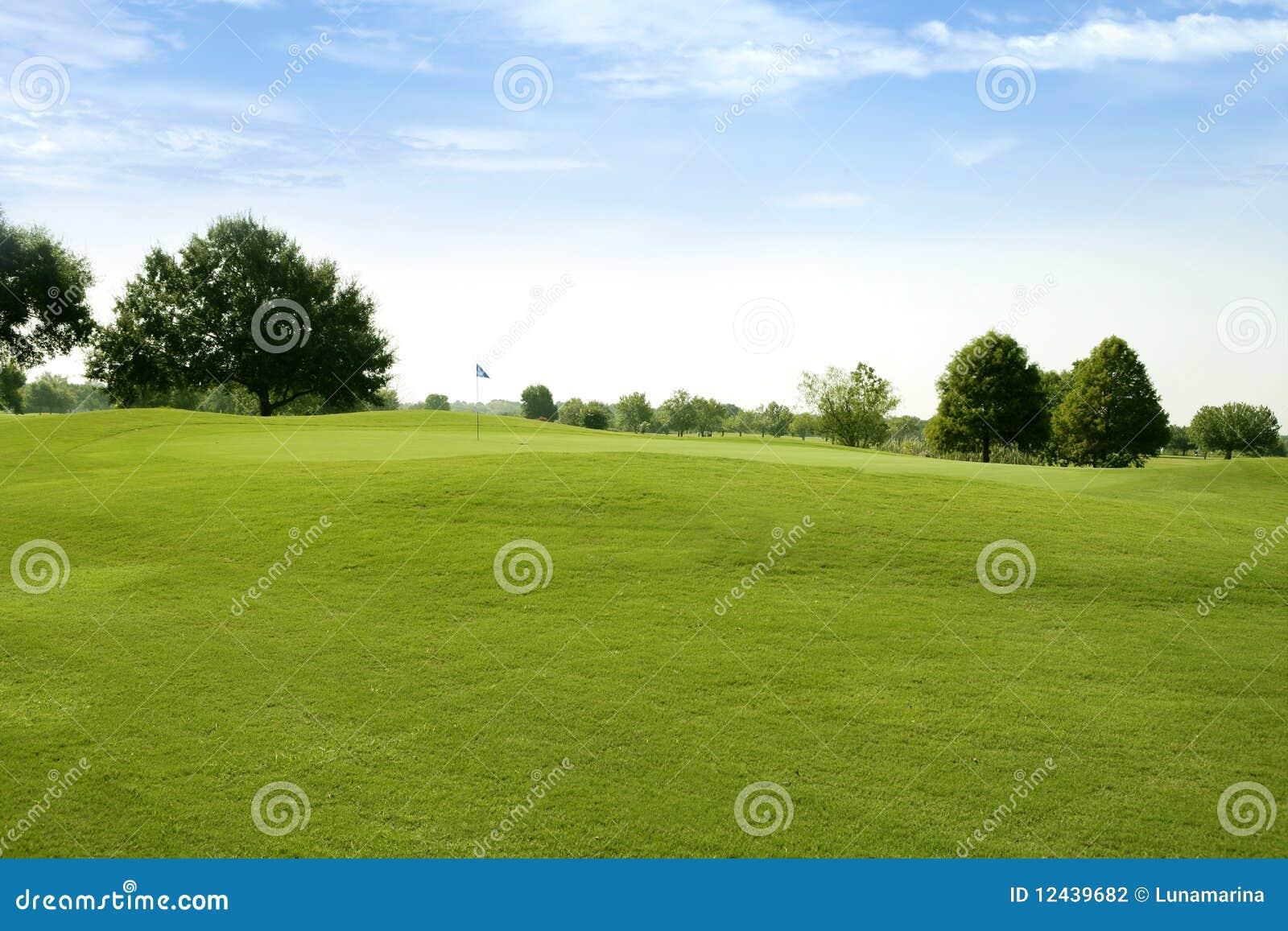 Sport för green för gräs för beautigulfältgolf