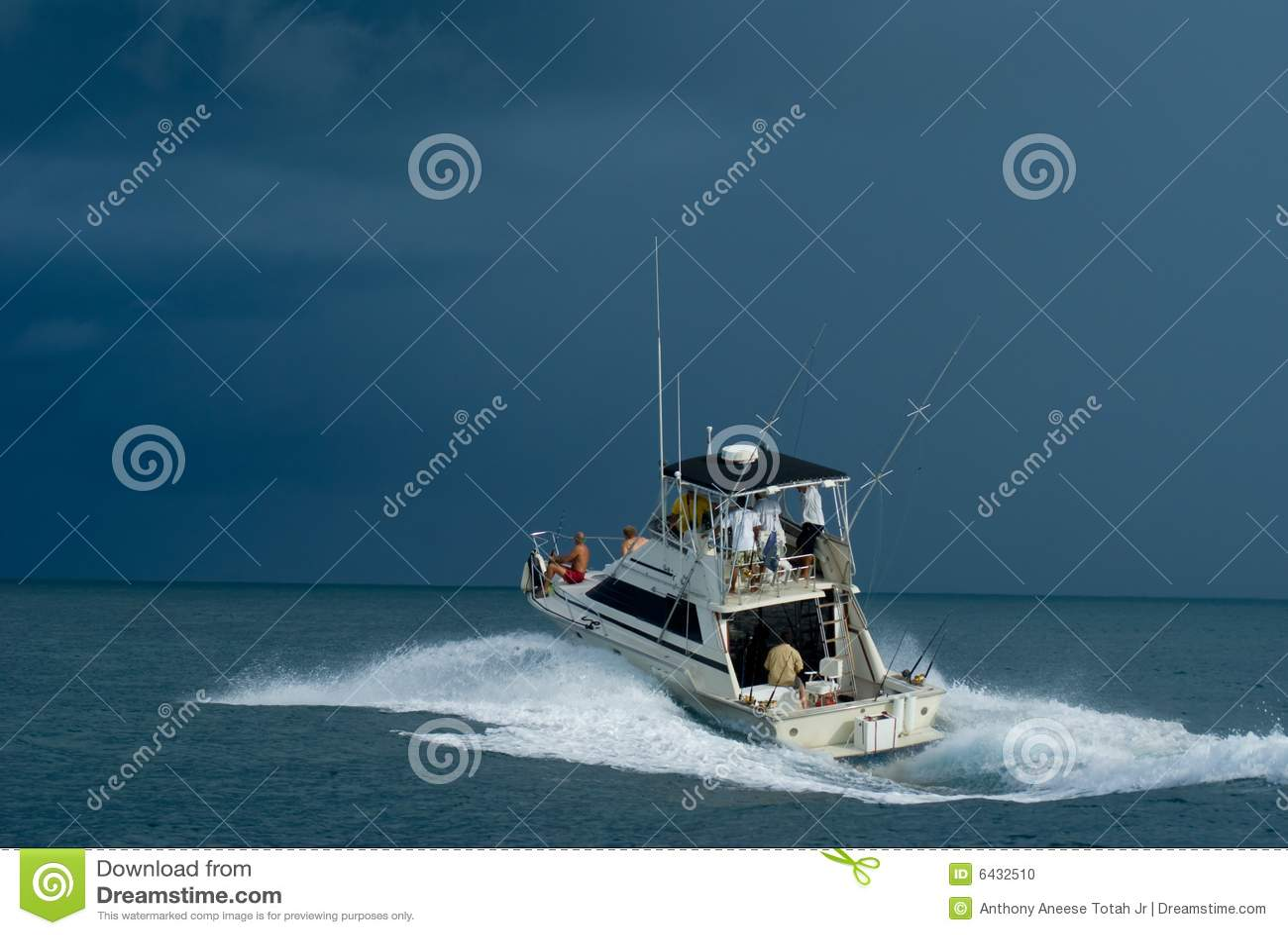 Sport-Fischerboot