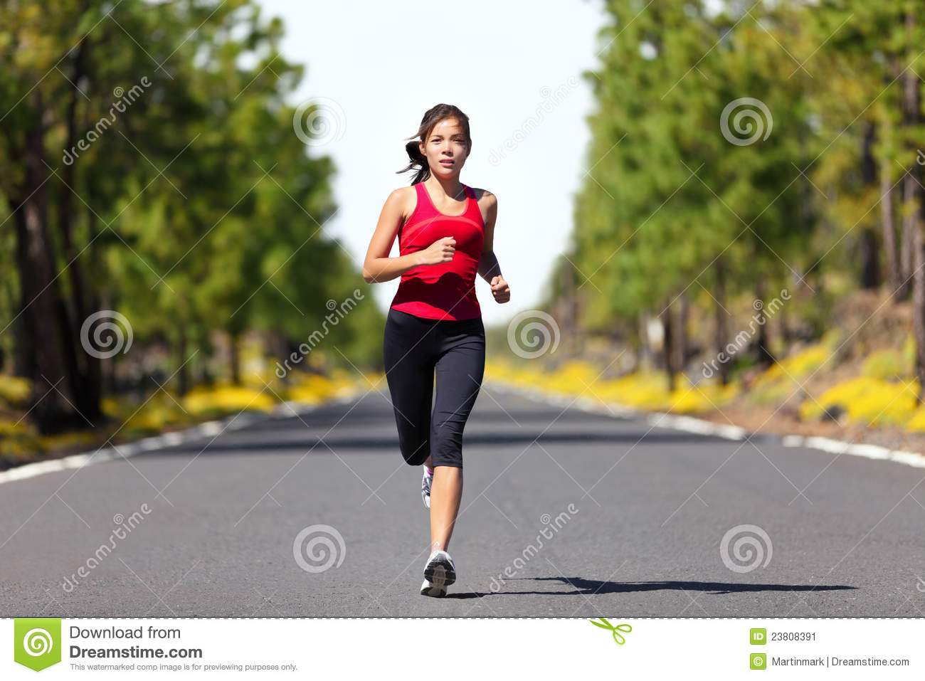 Sport Fitness Running Woman Stock Image - Image of chinese ...