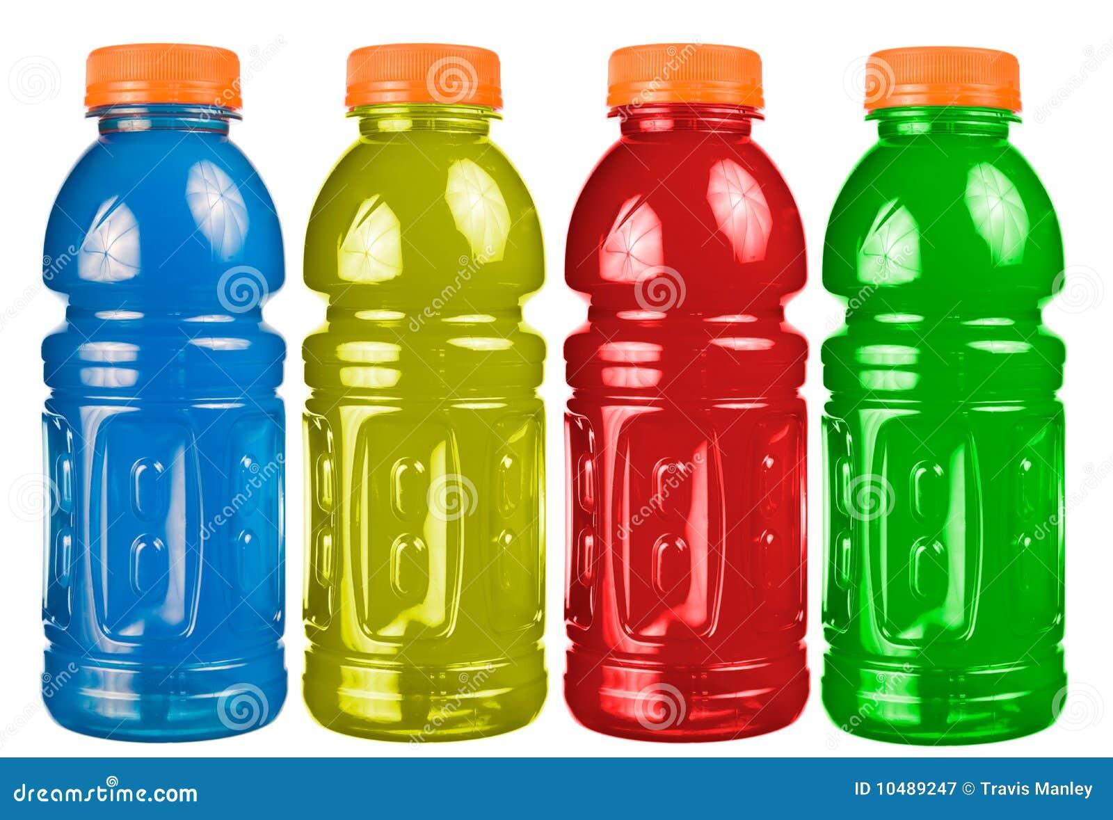Sport-Getränk-Set getrennt stockbild. Bild von abschluß - 10489247