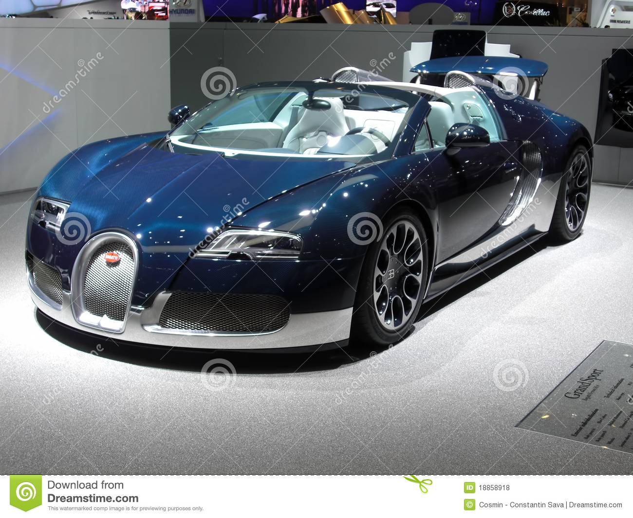 sport grand de bugatti veyron photo stock ditorial image 18858918. Black Bedroom Furniture Sets. Home Design Ideas
