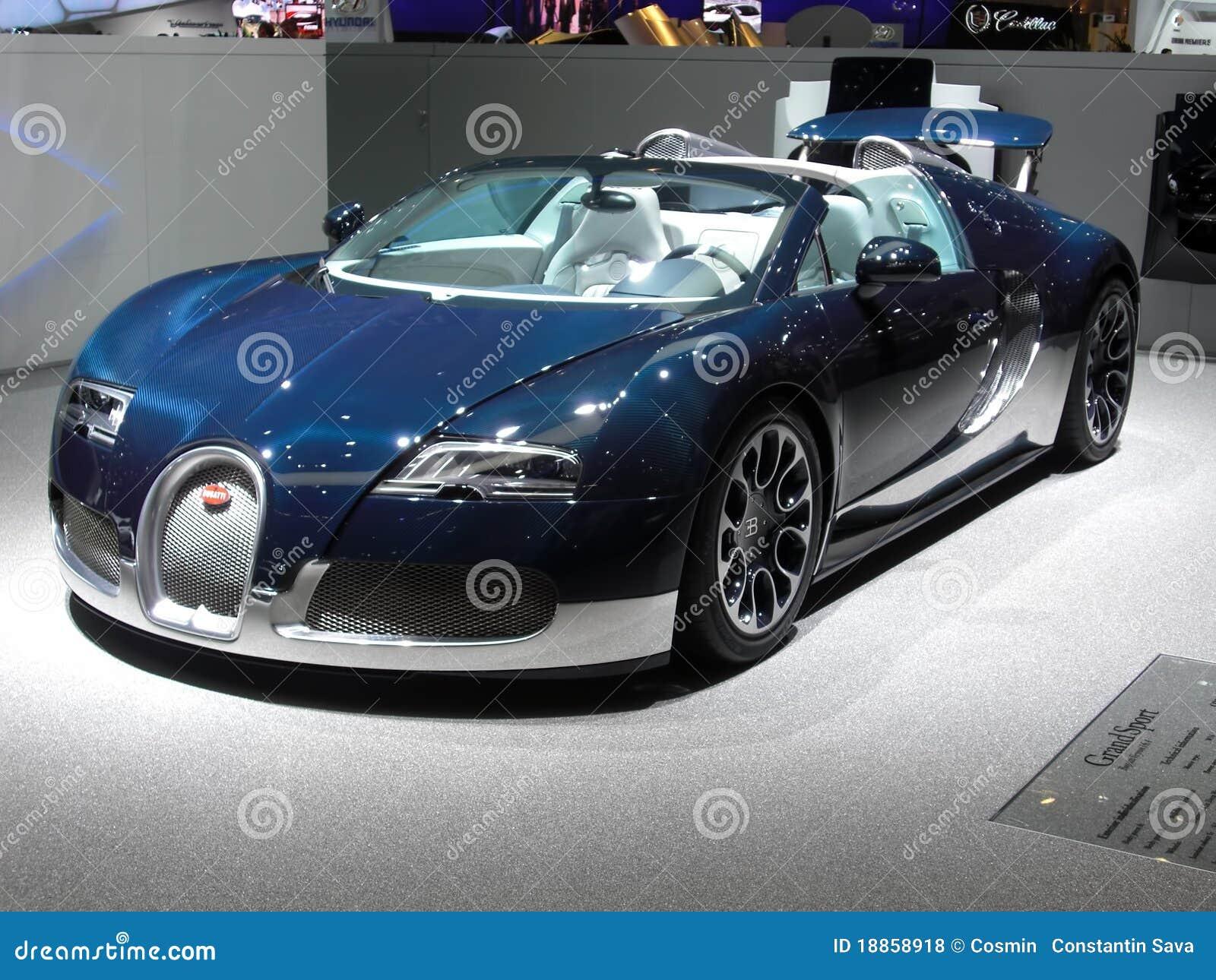 sport grand de bugatti veyron photo stock ditorial. Black Bedroom Furniture Sets. Home Design Ideas