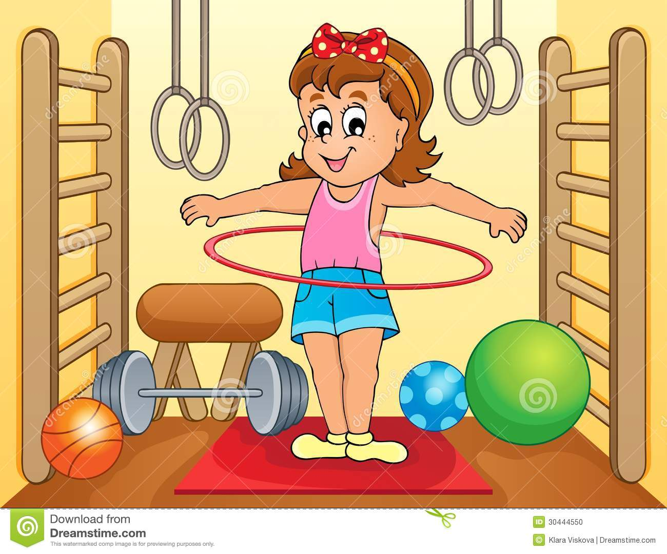 Sport and gym topic image stock photo