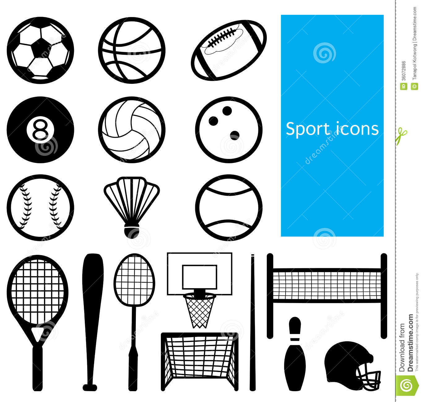 Sport Icon Royalty Free Stock Image - Image: 36072886