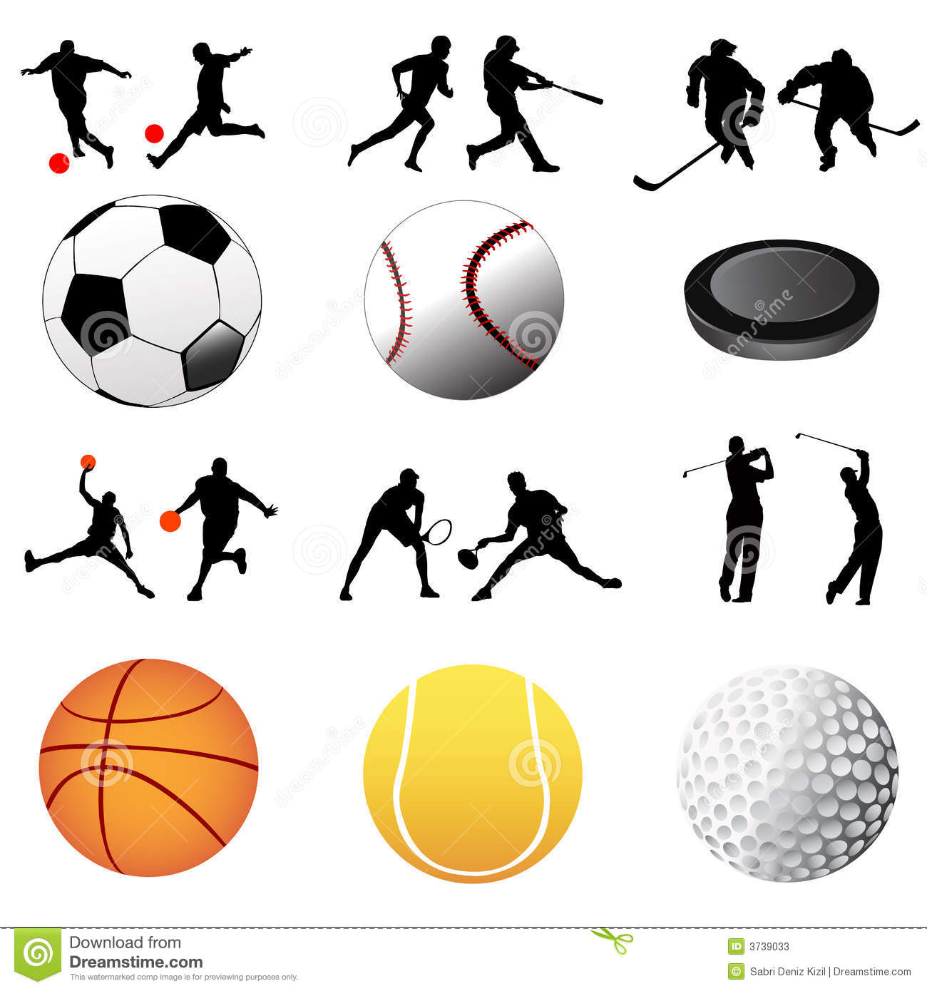 Sport Icon Vector Stock Photos Image 3739033
