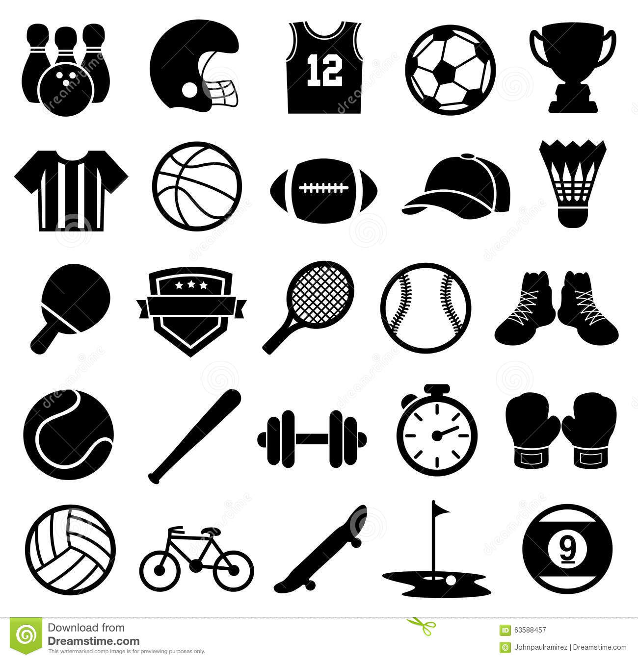 Individual Sports: Silhouette Badminton Player Racket Uniform Player Vector