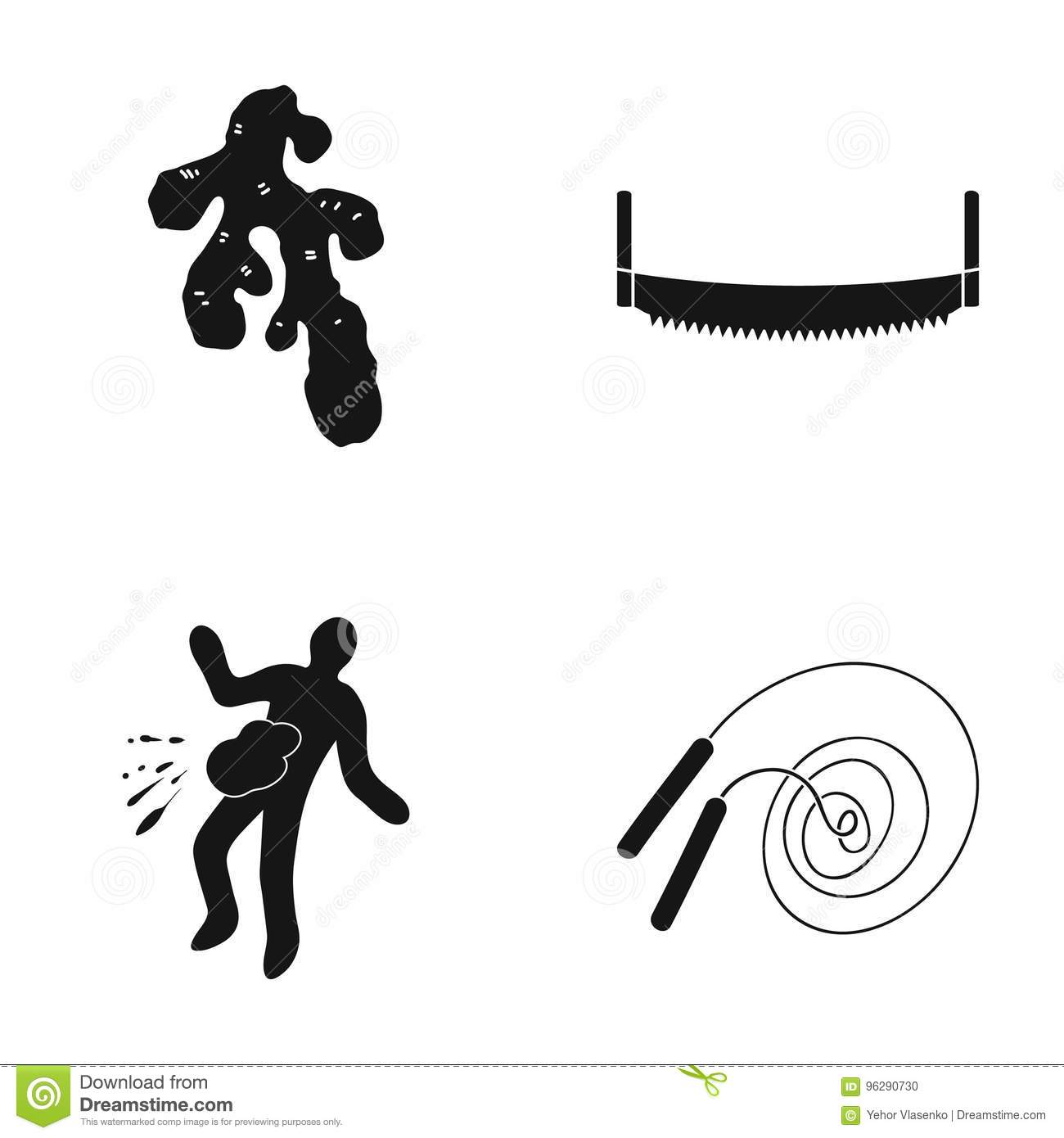 Sport, Investigation, Equipment And Other Web Icon In Black Style
