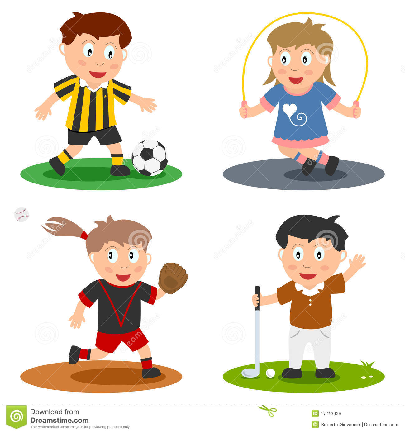 sport kids collection 3 - Sports Images For Kids