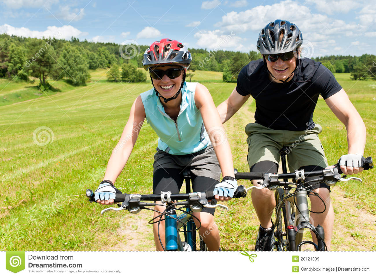 Dating a mountain biker girl