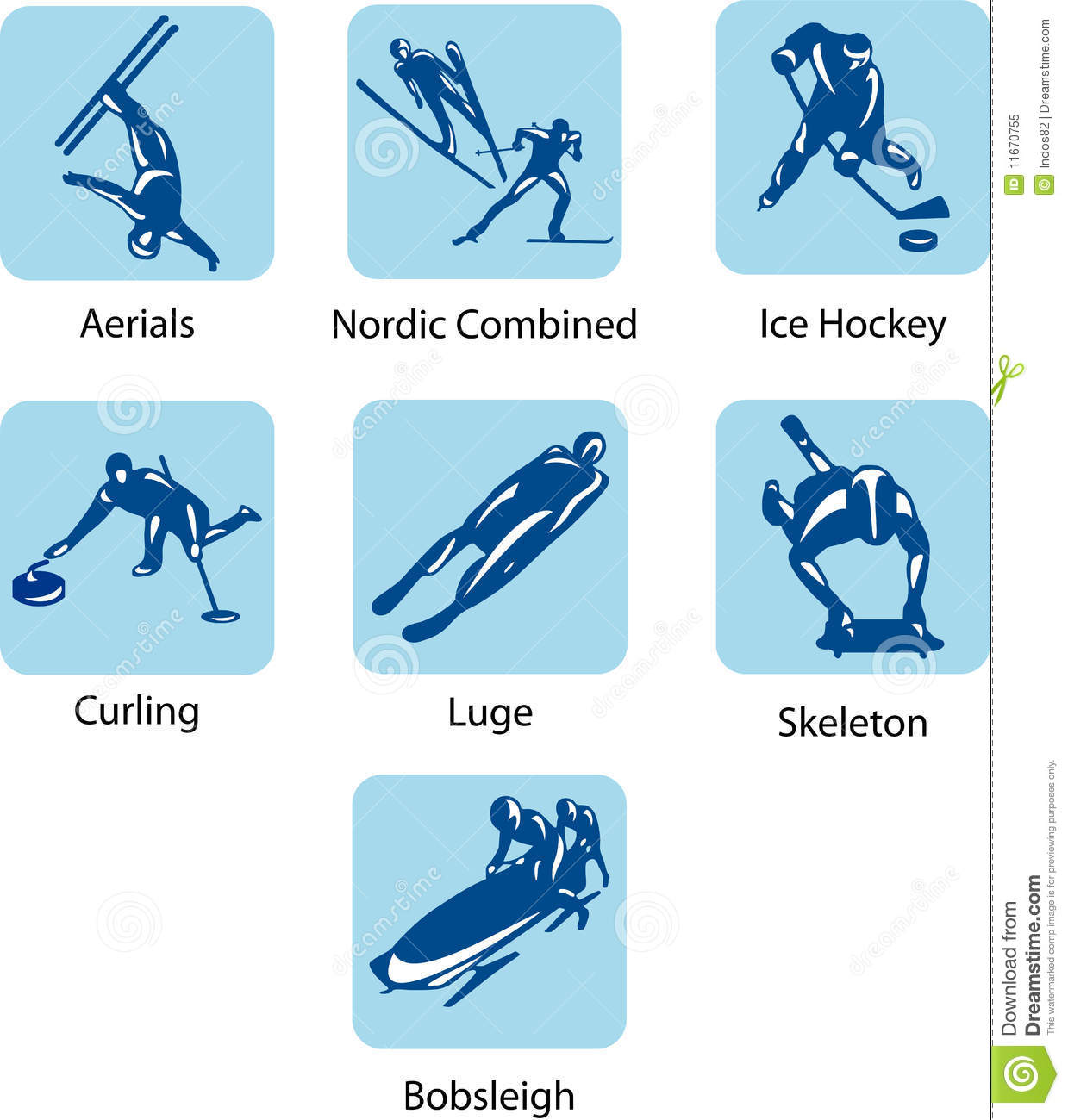 sport pictograms royalty free stock photo image 11670755