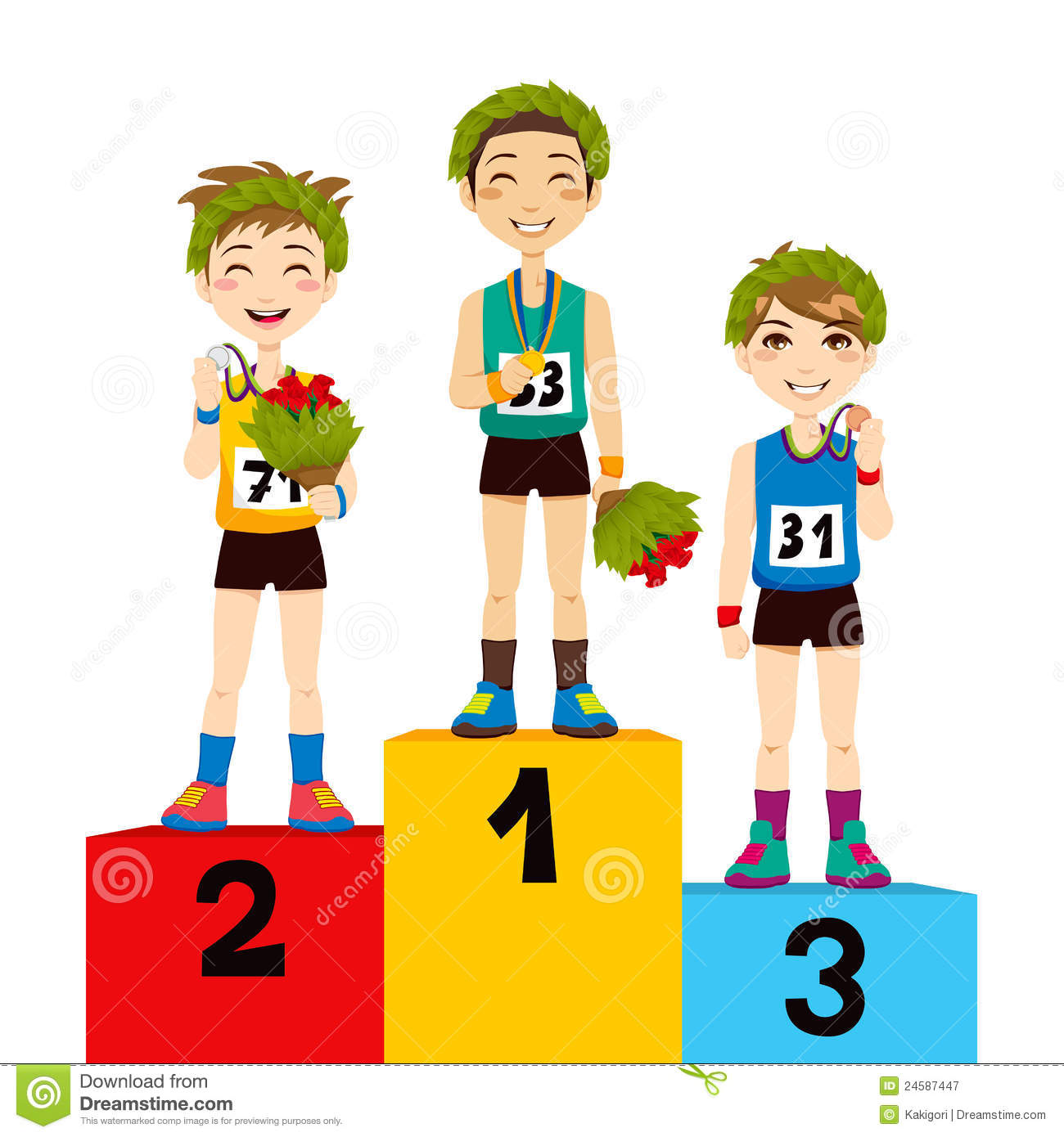 sport podium winners royalty free stock photography field hockey clipart free hockey clip art free black and white