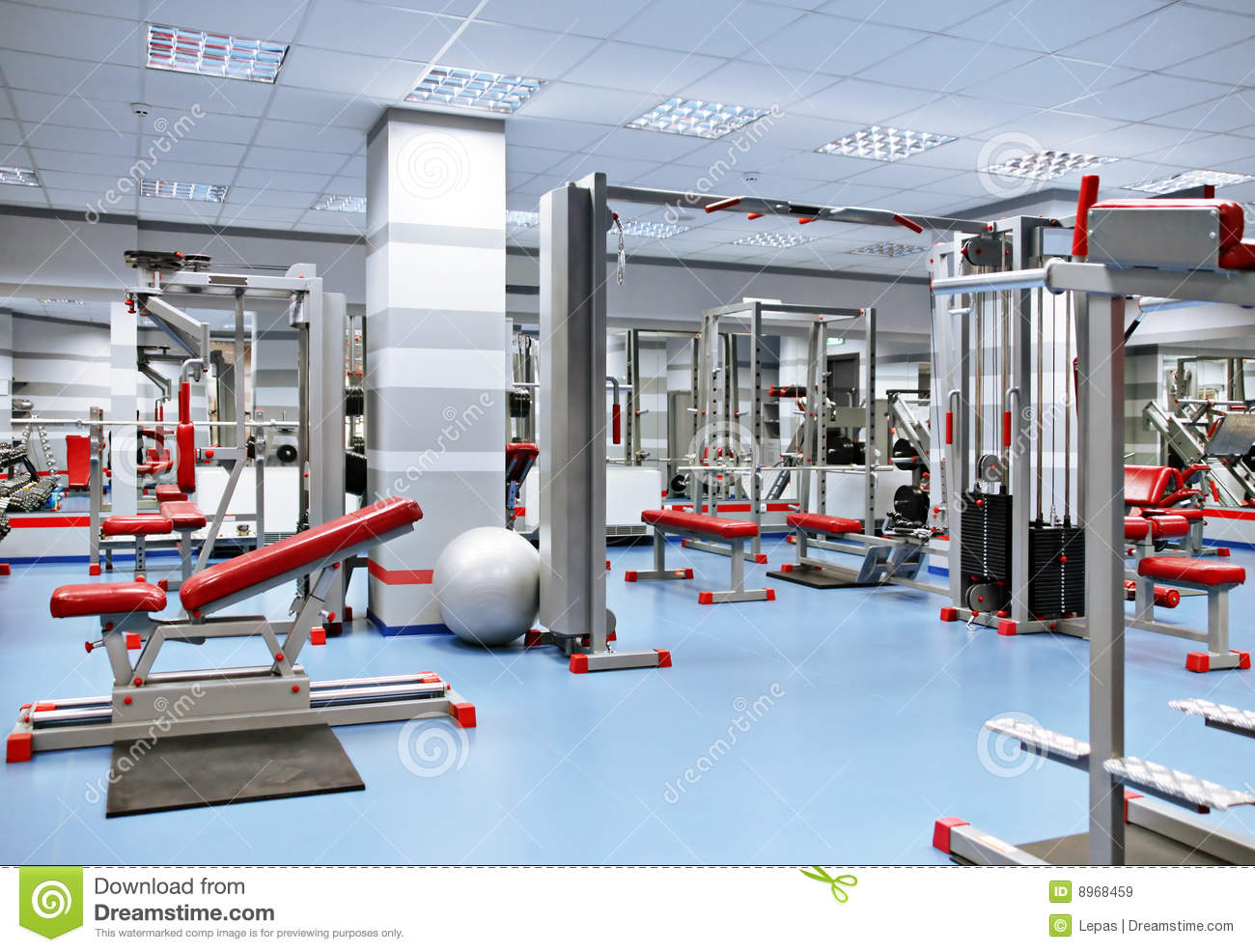 Sport room royalty free stock images image
