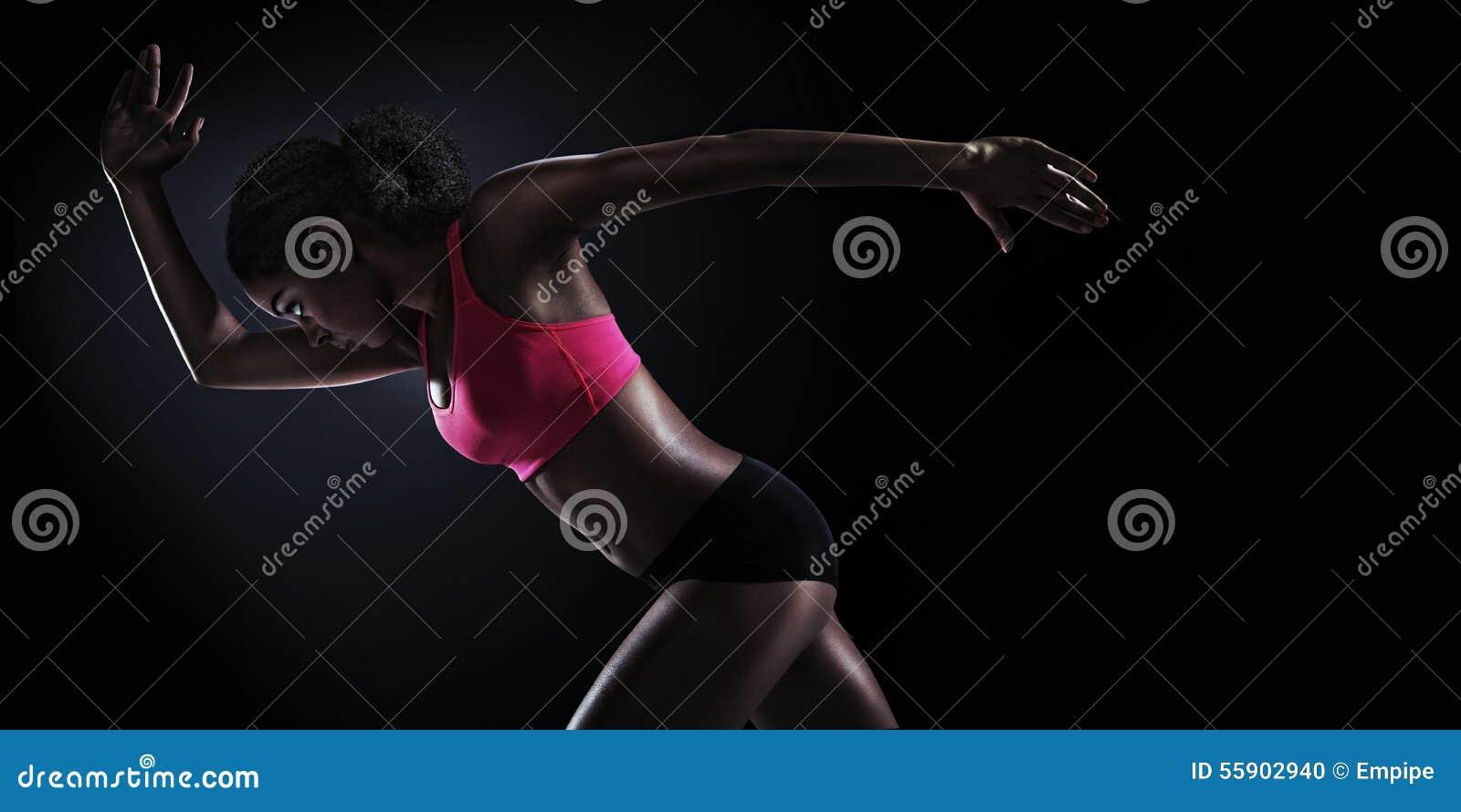 Sport. Runner. Silhouette