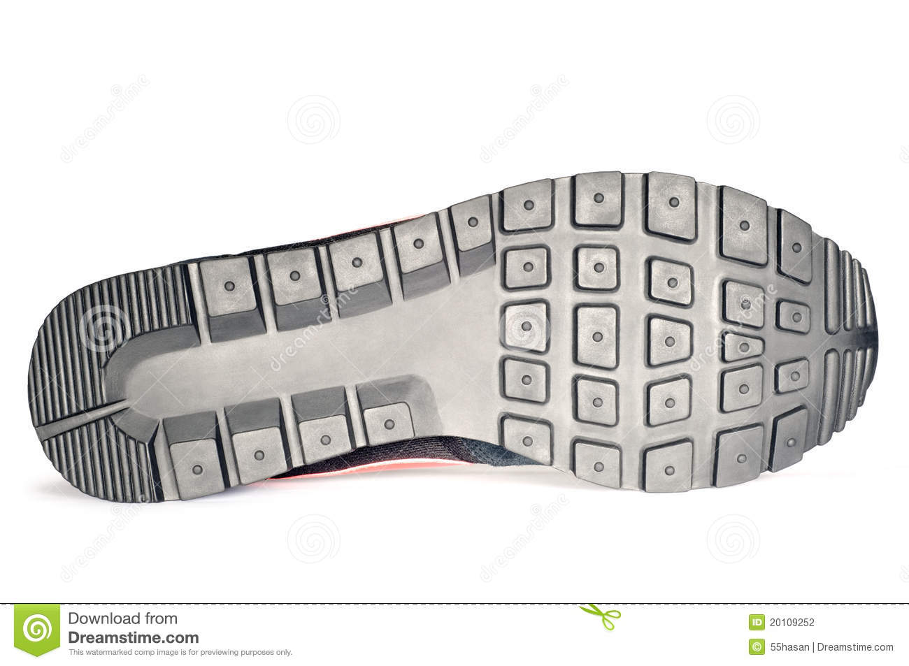 Stock Photography: Sport shoe sole