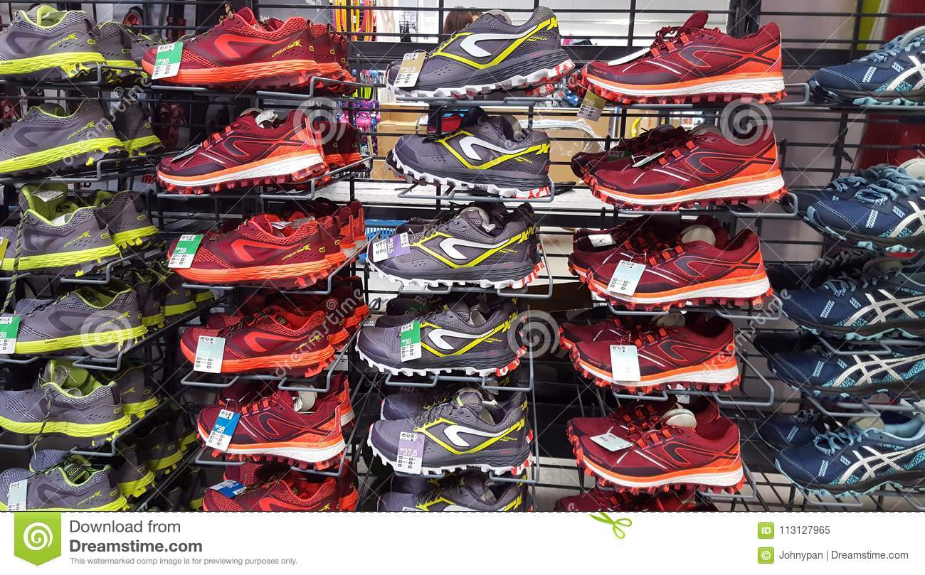 uk availability 67a5a 76ef5 Sport Shoes For Sale In Decathlon Market. Iasi, Romania ...