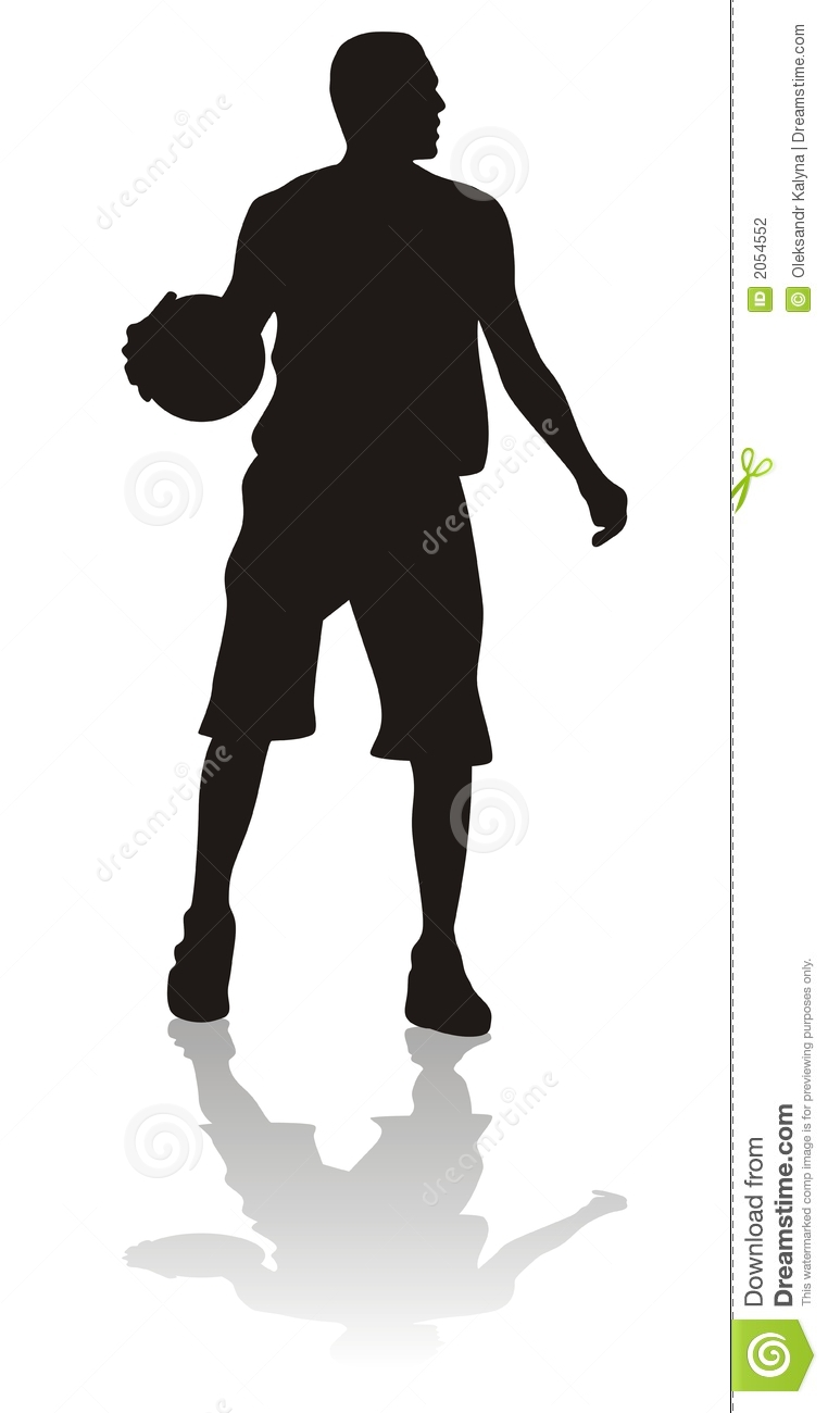 Sport silhouettes stock vector. Illustration of jump ...
