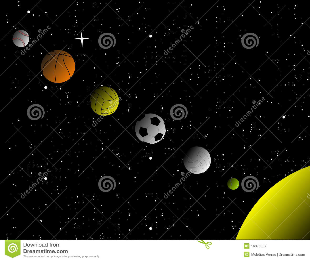 Sport Solar System Royalty Free Stock Photography Image