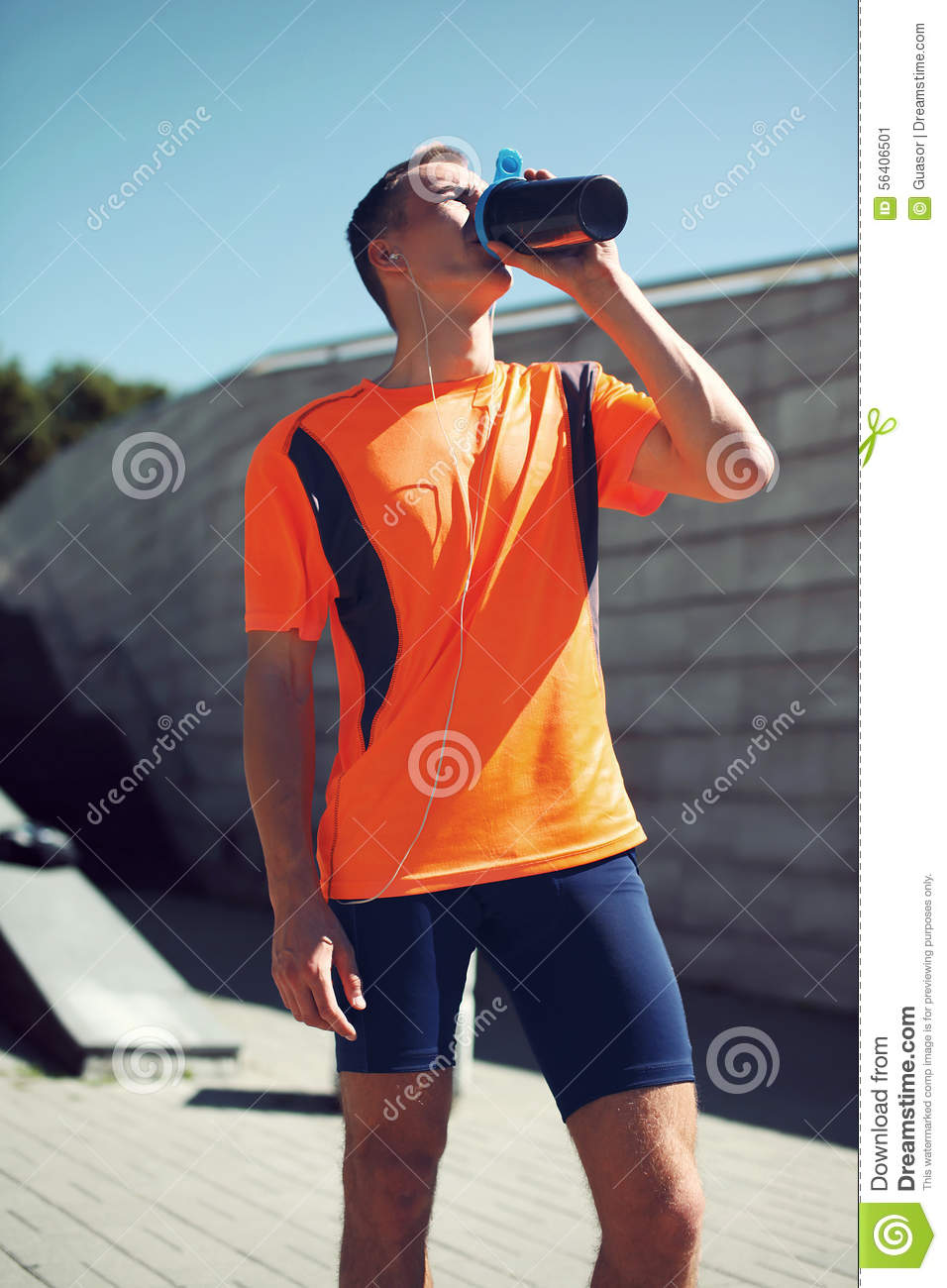 Sport, Sports Nutrition And Healthy Lifestyle Concept Stock Photo - Image: 56406501