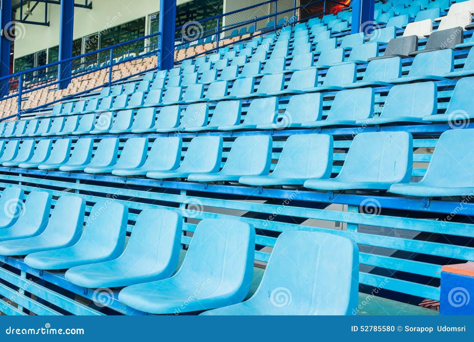 Sport Stadium Chair On Bleachers Photo Image 52785580 – Chair for Bleachers