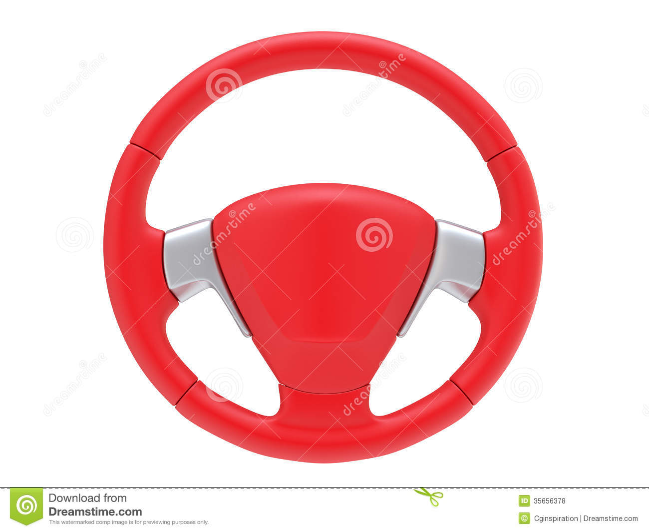 Sport steering wheel stock illustration. Image of wheel ...