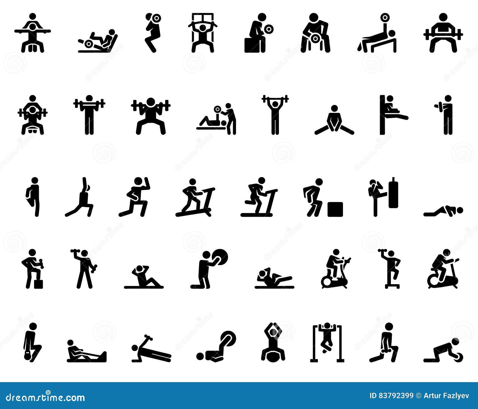 sport stick figure  stick figure  sports icons  vector monochrome  illustration vector illustration