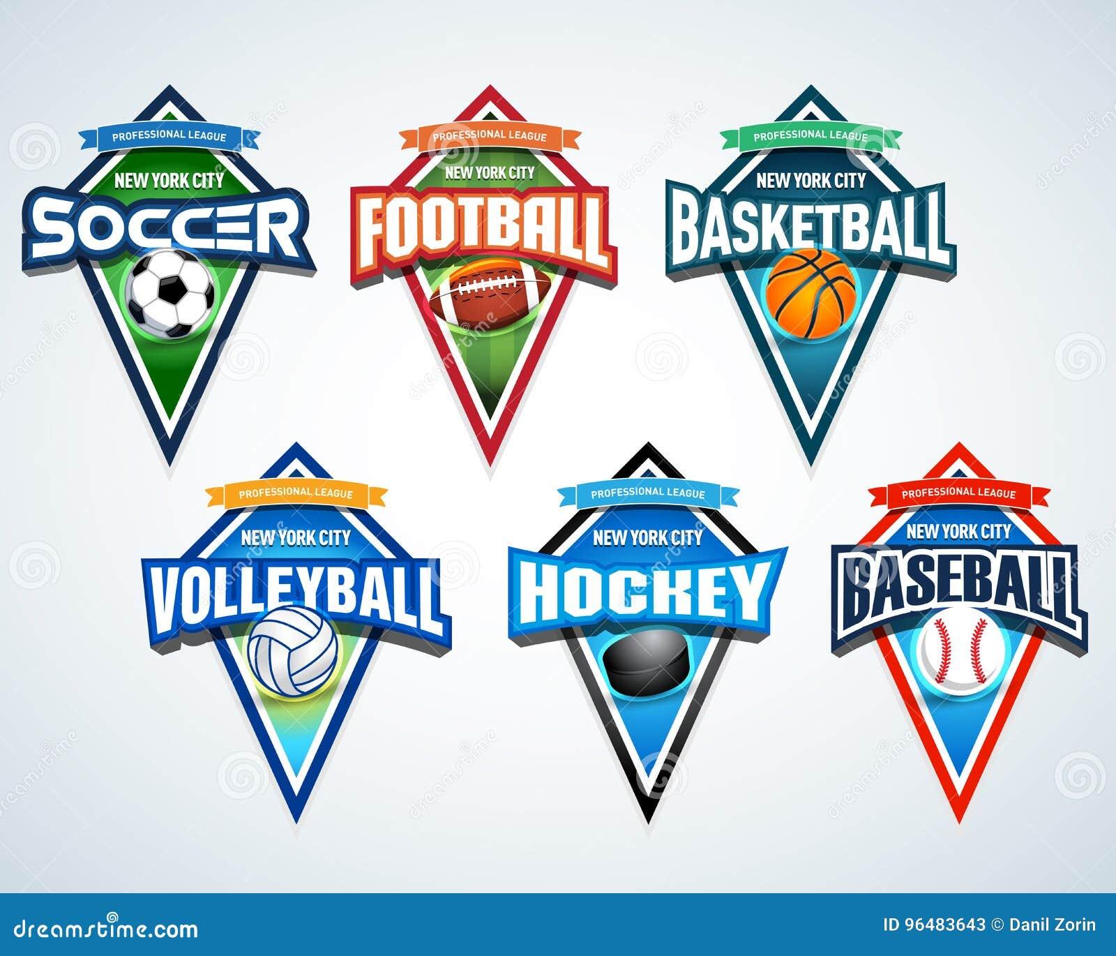 b8ca7f0fd Sport Team Logo Emblems