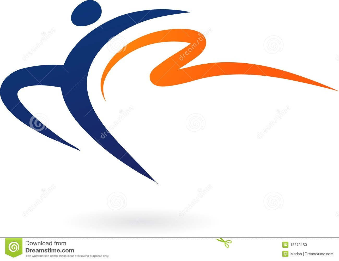 Sport Vecto Rlogo - Gymnastics Stock Photo - Image: 13373150