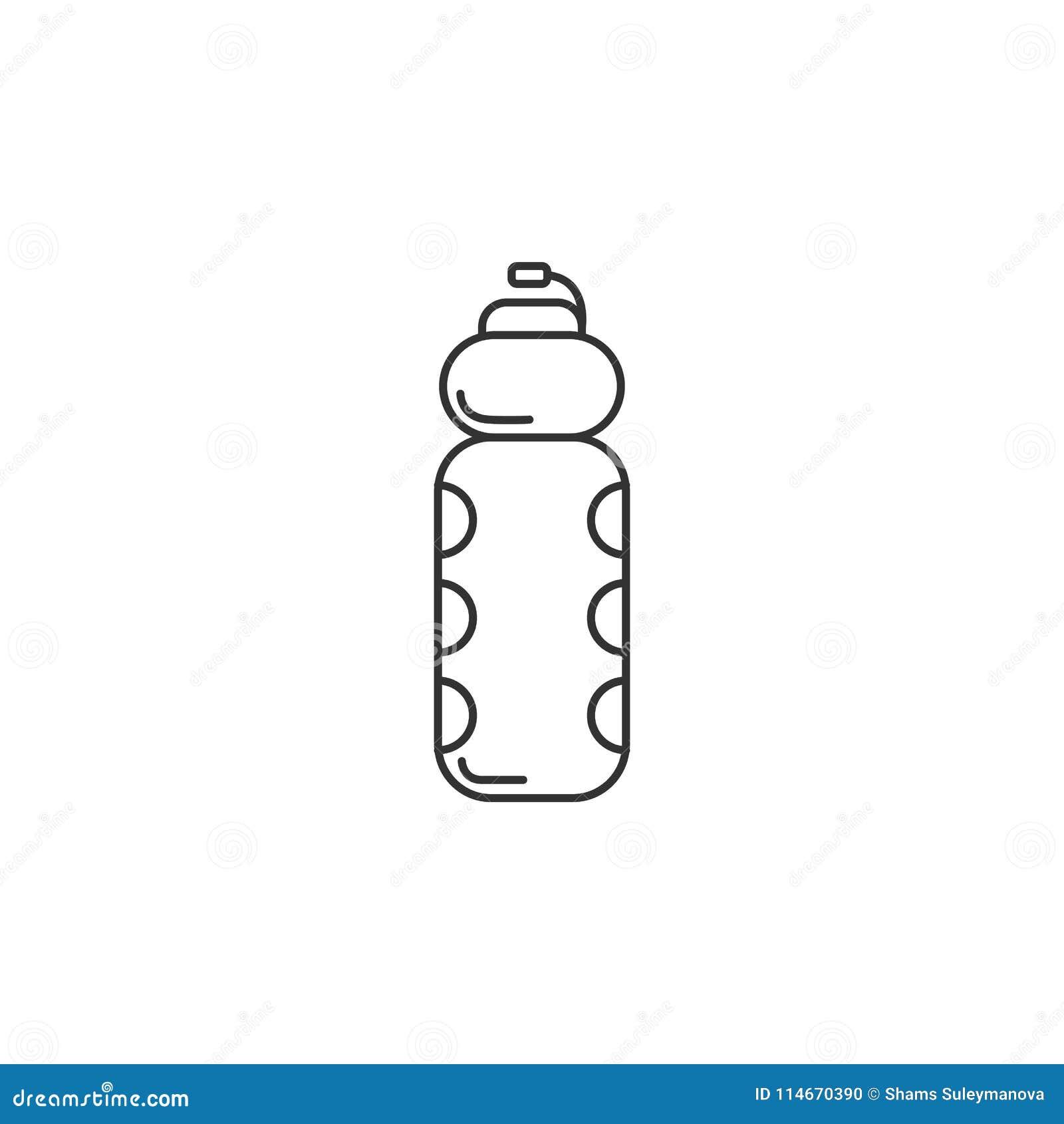 sport water bottle icon simple element illustration. Black Bedroom Furniture Sets. Home Design Ideas