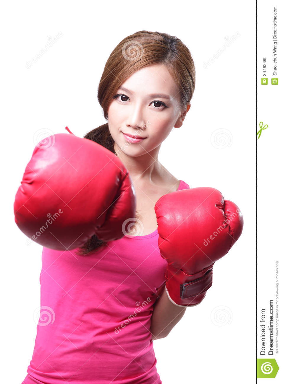 Nude Girl In Boxing Gloves - Porn Pics-8907