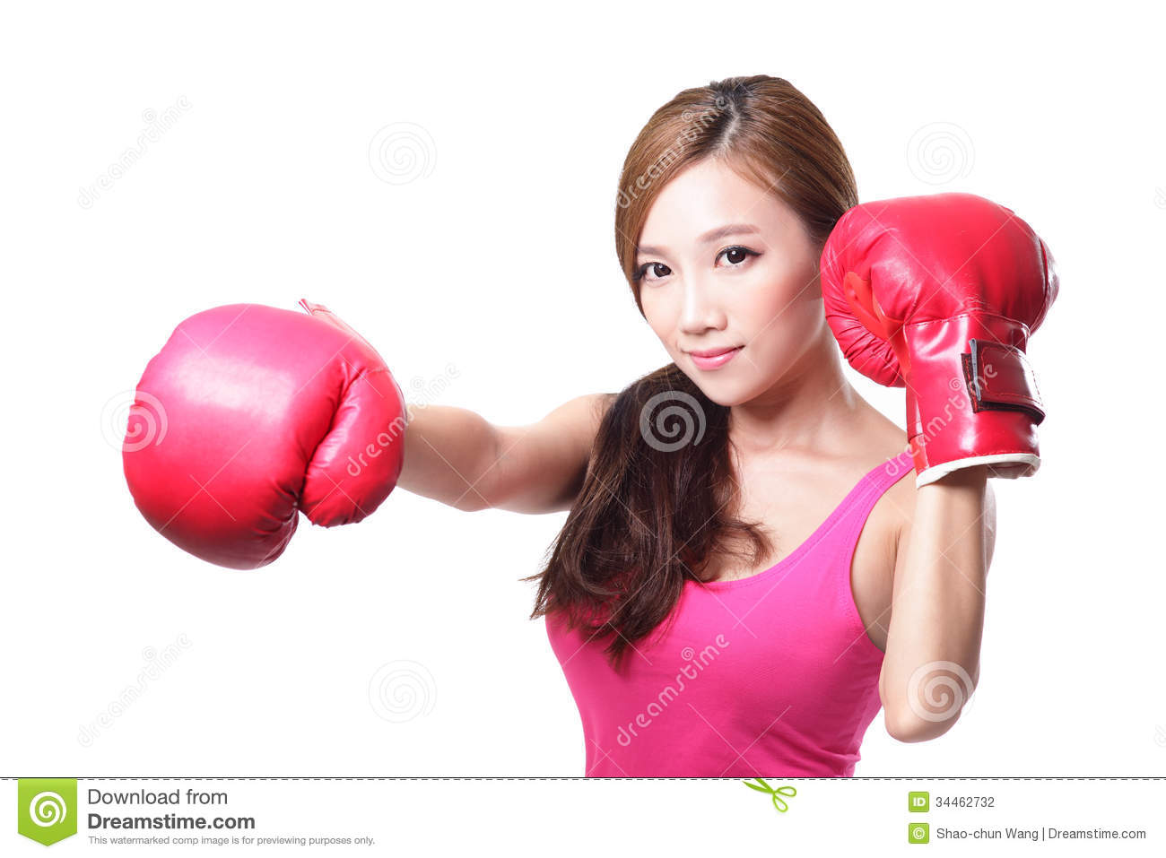 Asian girls boxing pity, that