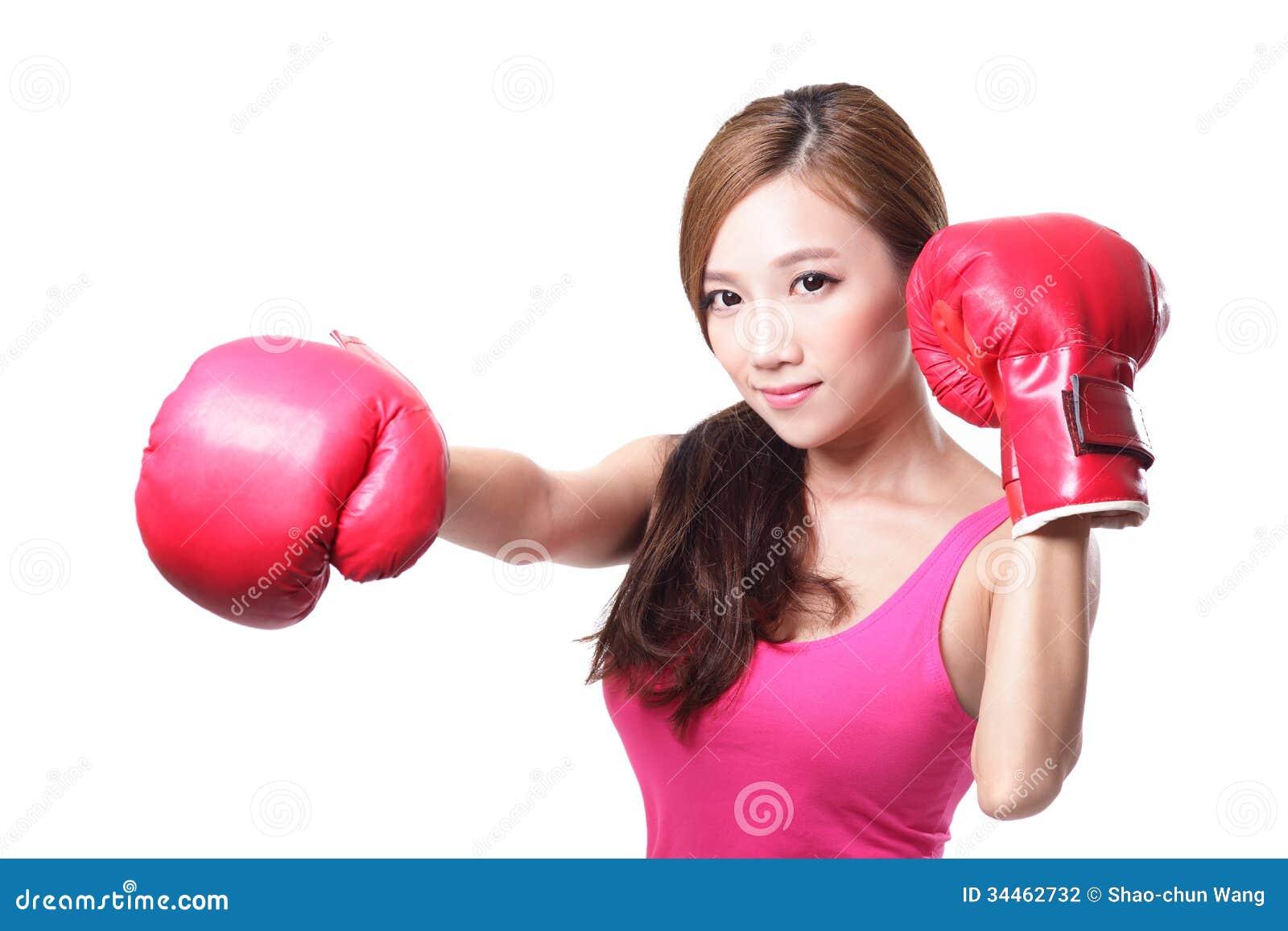 Asian girls boxing pity, that