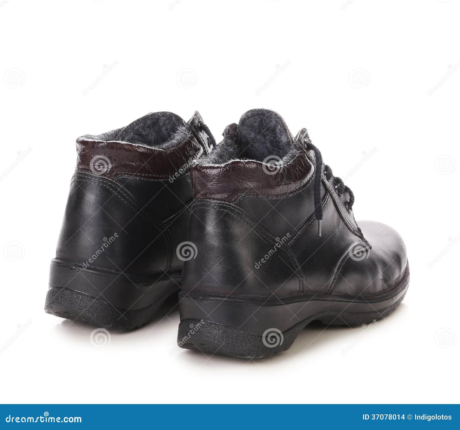 Download Sport zimy czerni buty. zdjęcie stock. Obraz złożonej z napad - 37078014