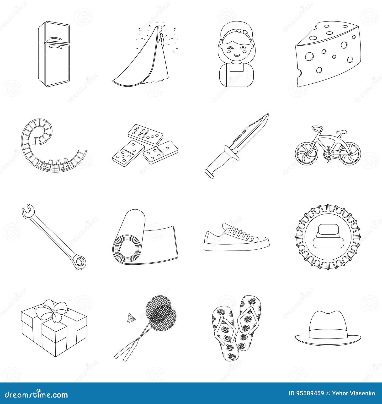 Sporten, fitness, huwelijk en ander Webpictogram in overzichtsstijl elektrisch apparaat, voedsel, de dienstpictogrammen in vastge