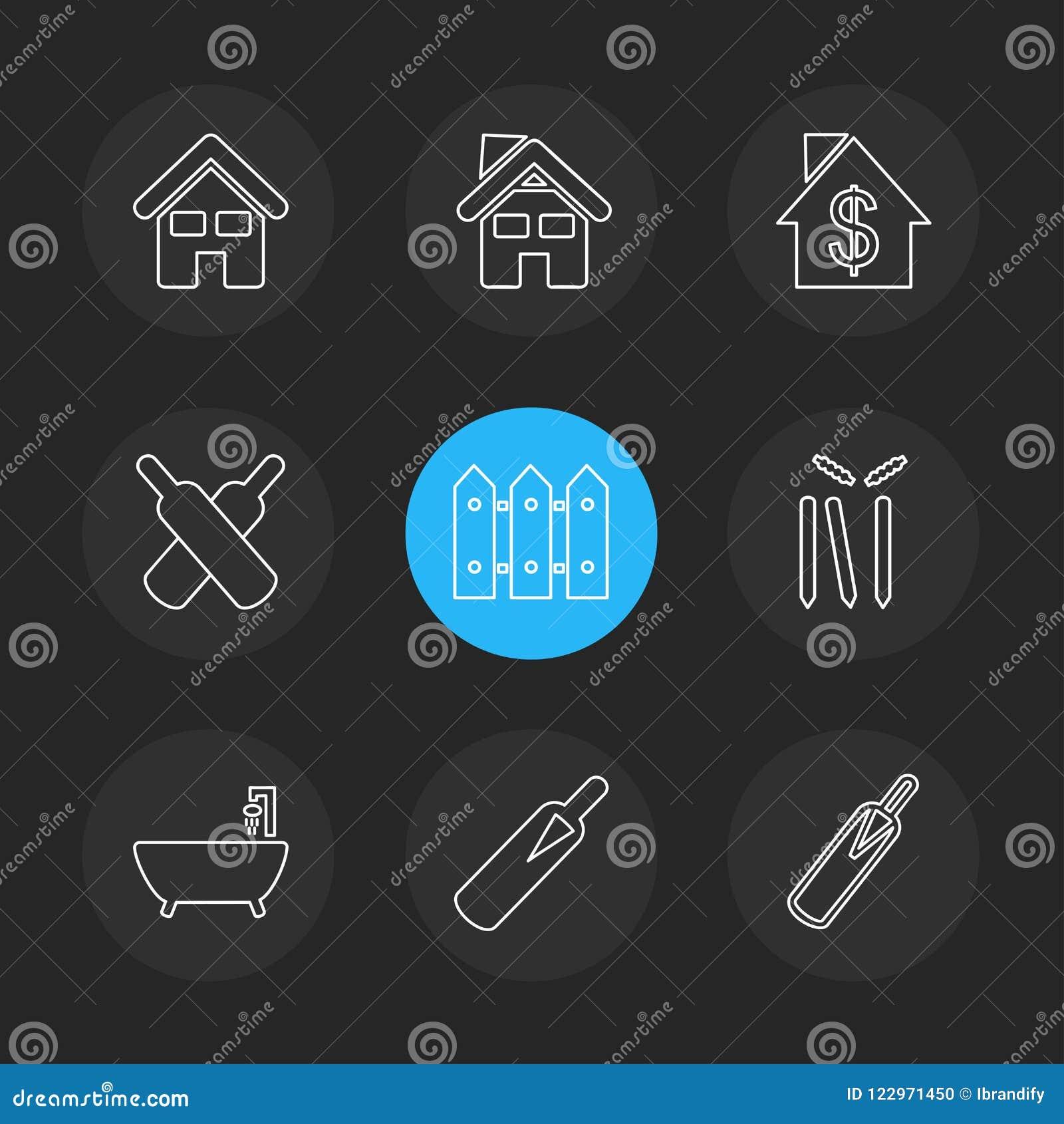 Sporten, spelen, atheletes, eps pictogrammen geplaatst vector
