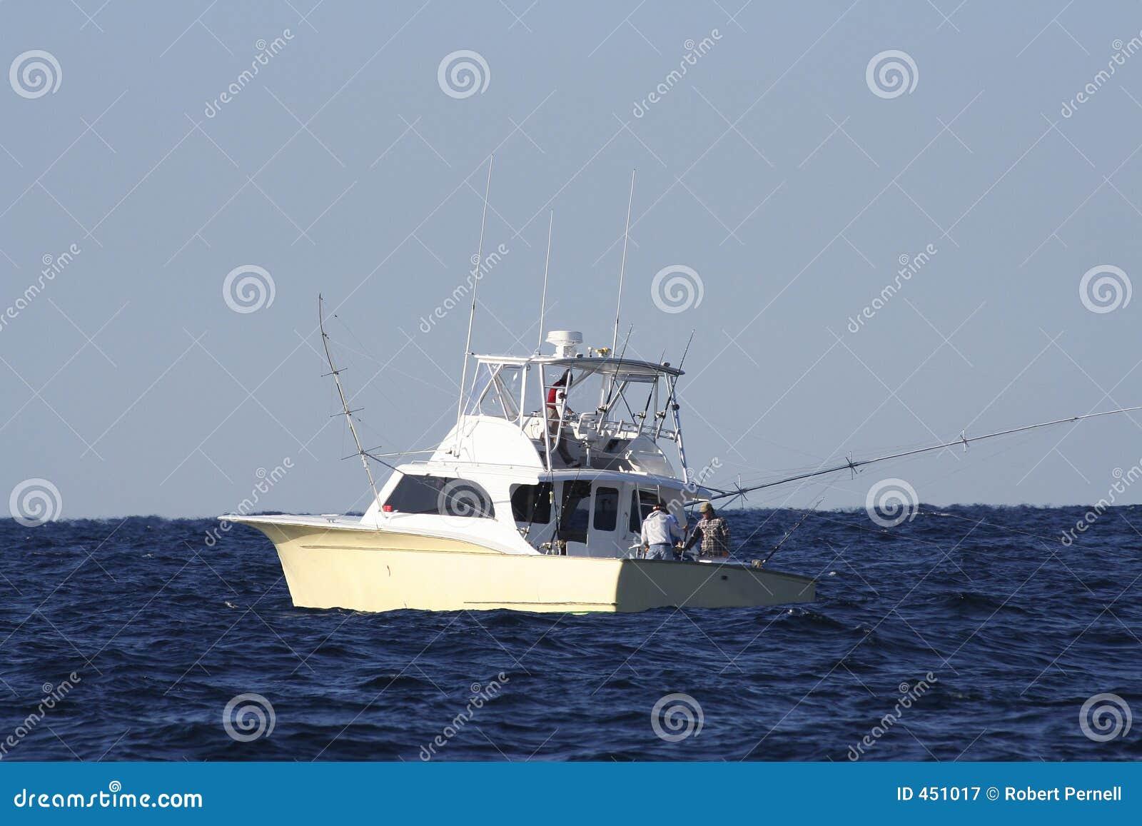 Download Sportfishing Boat stock image. Image of water, marlin, bahamas - 451017