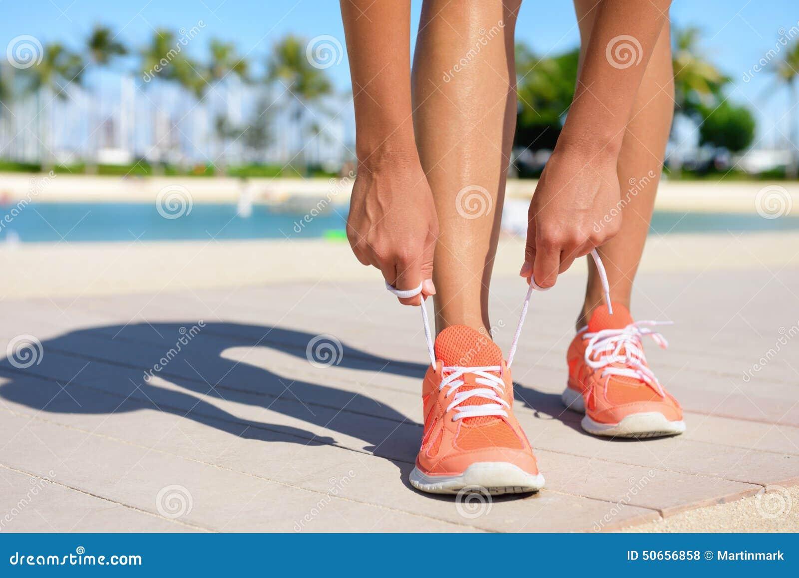 Sportfitness het lopende concept van de Oefeningslevensstijl