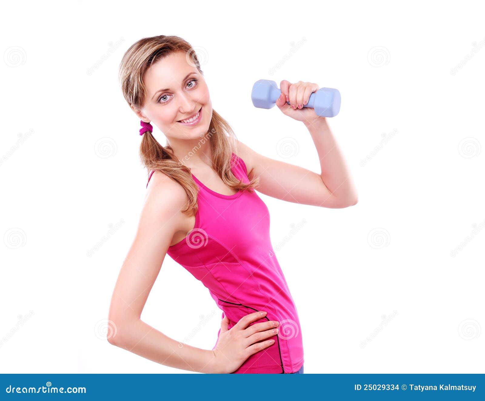 Sportigt kvinnabarn