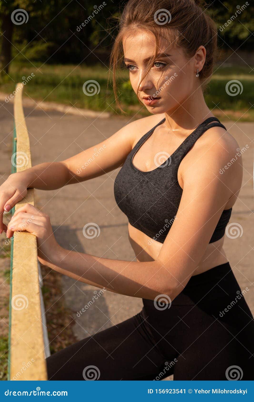 Sexy Sportlerin