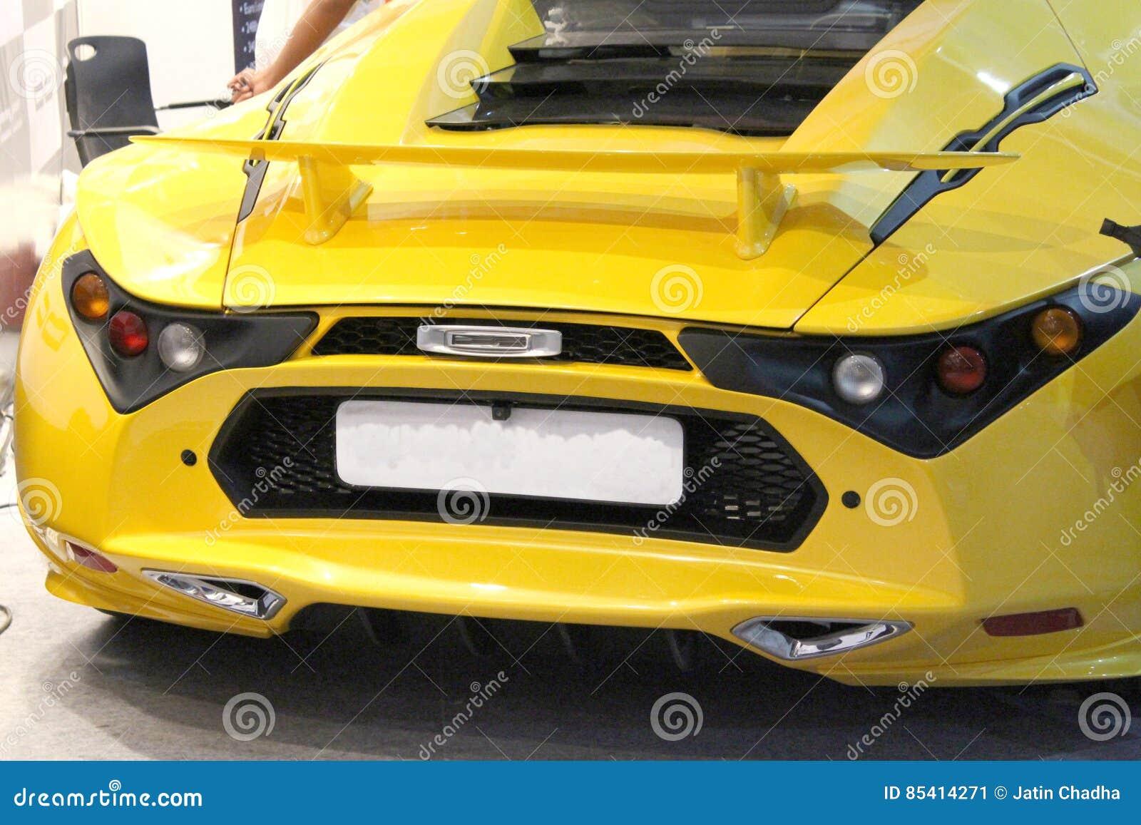 Sportliches Auto