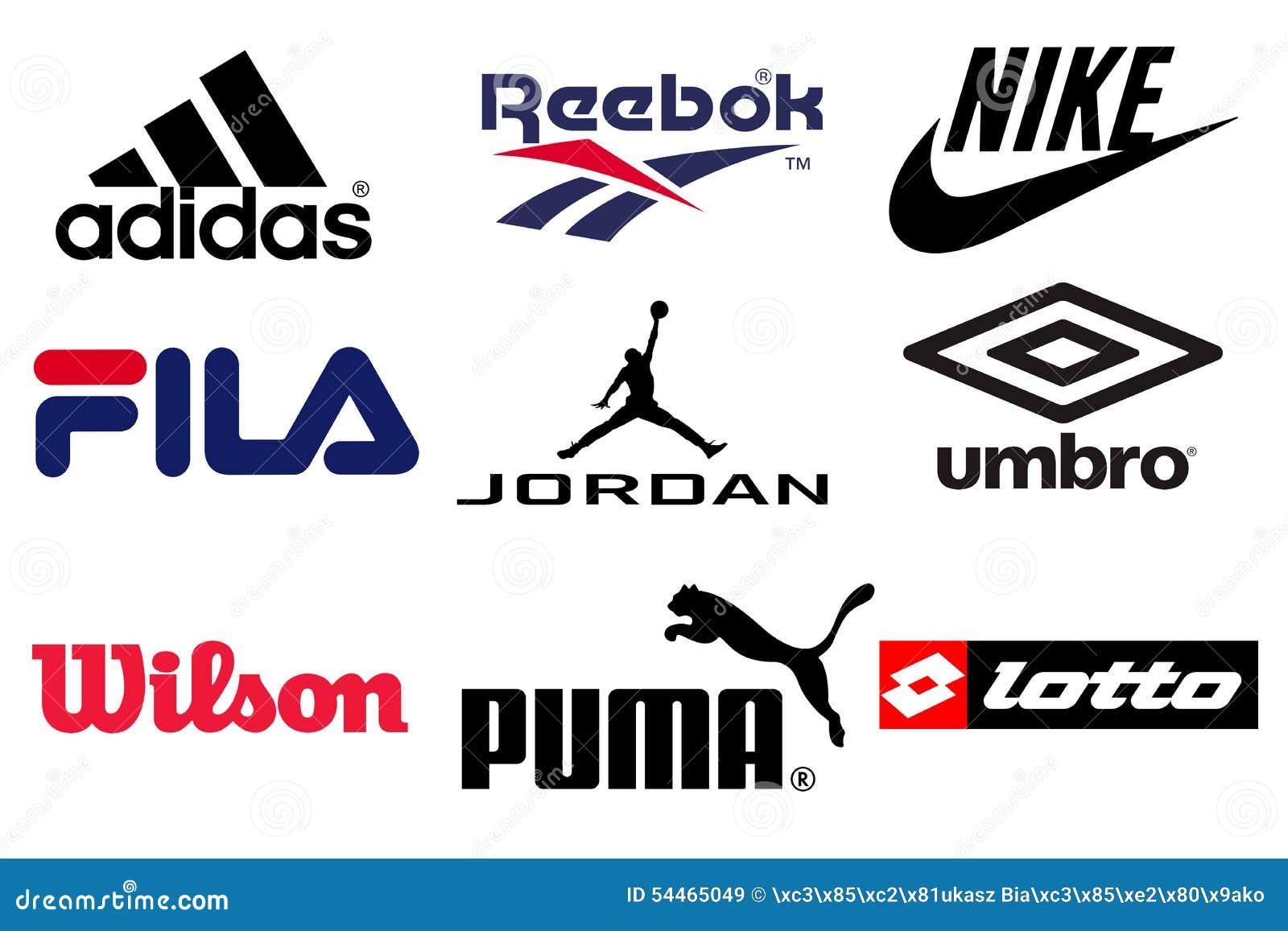 Major Tennis Shoe Brands