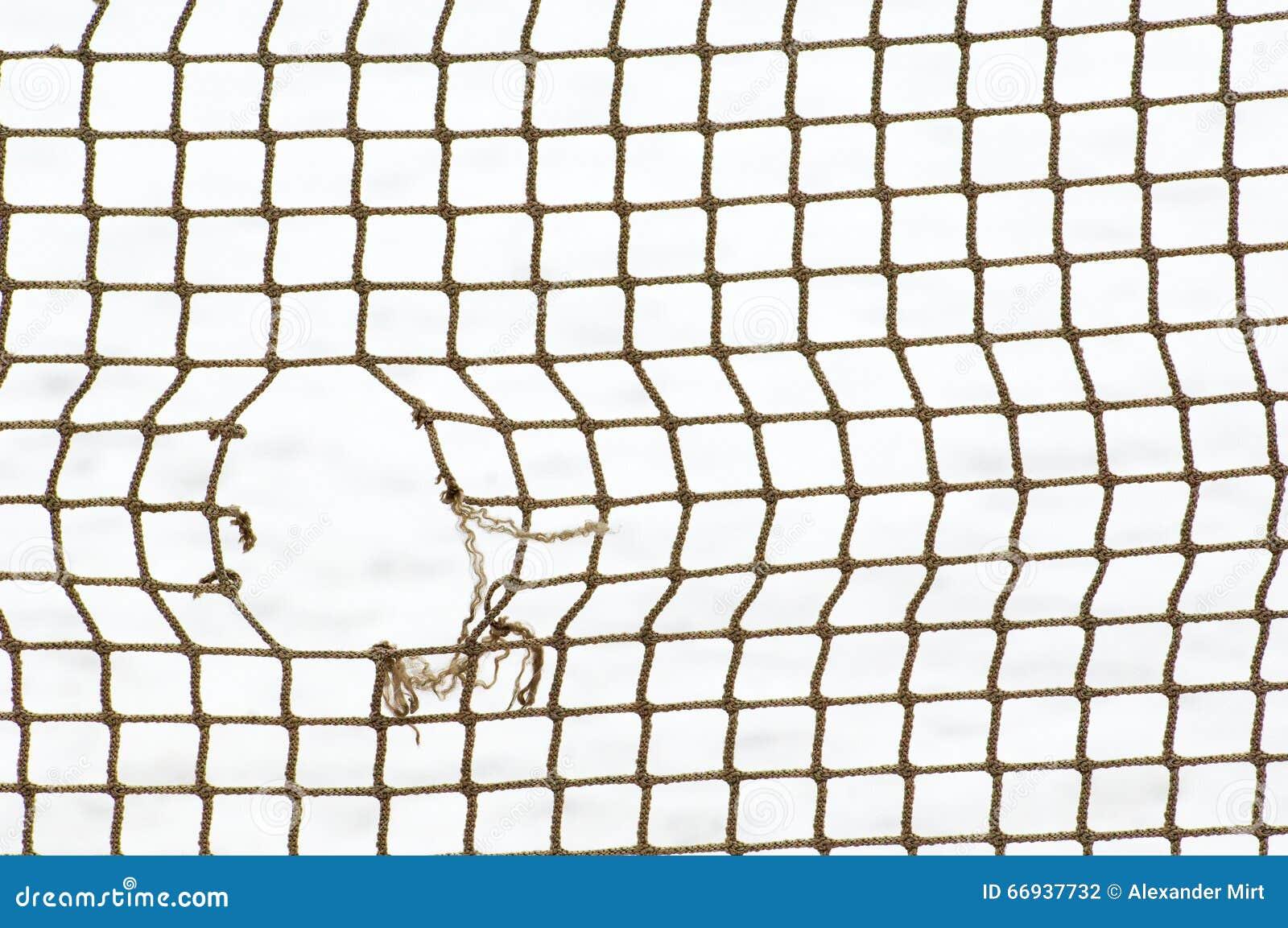Sportnetz mit Loch