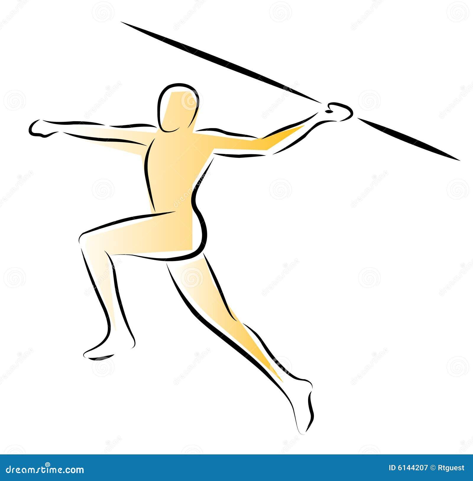 Sportowcy dardy rzucania