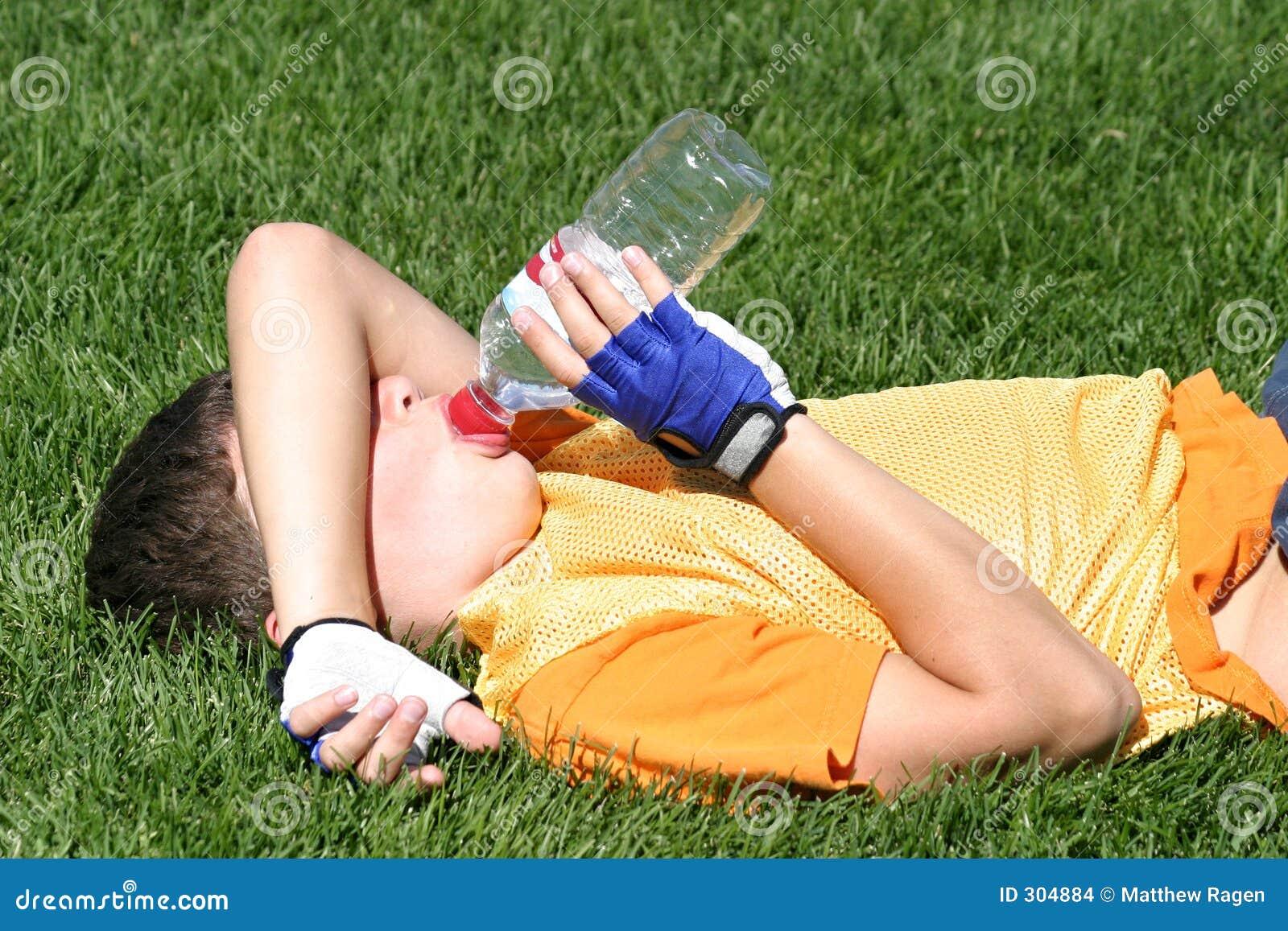 Sportowiec jest zmęczona