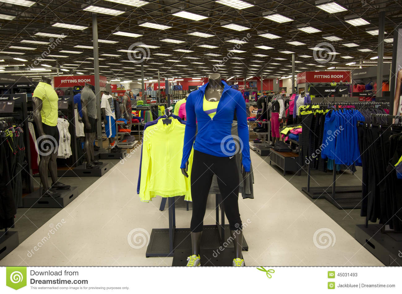 Sporting clothes stores near me