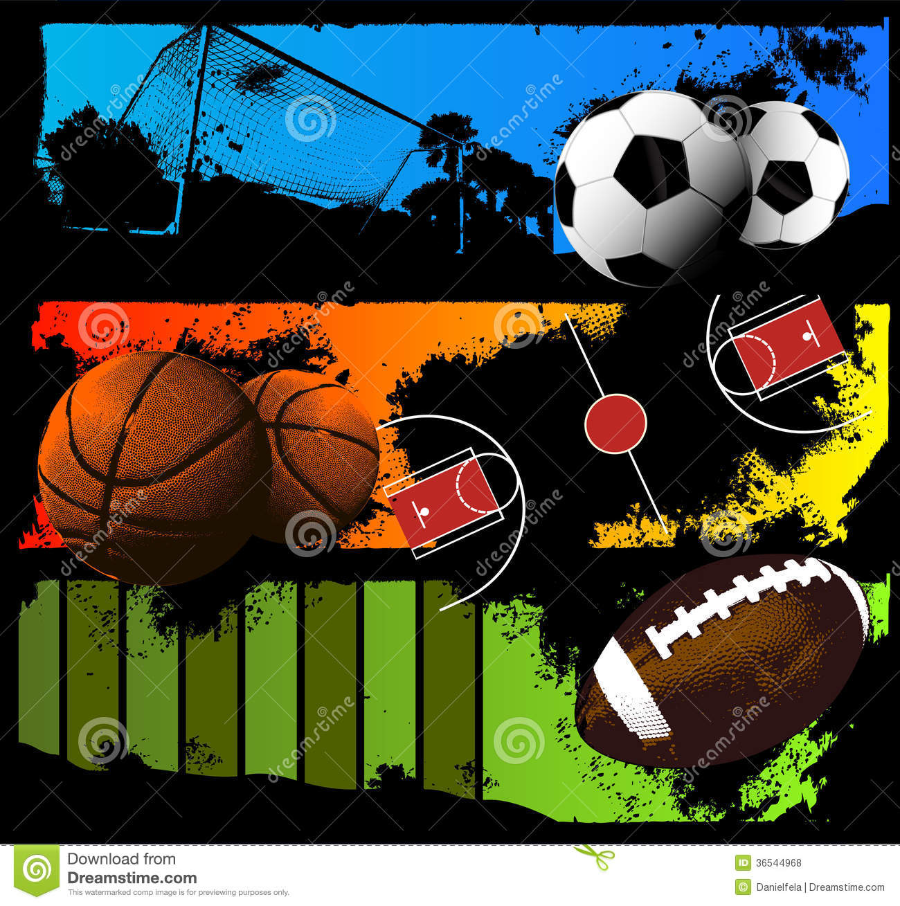 A comparison of basketball and football two major sports