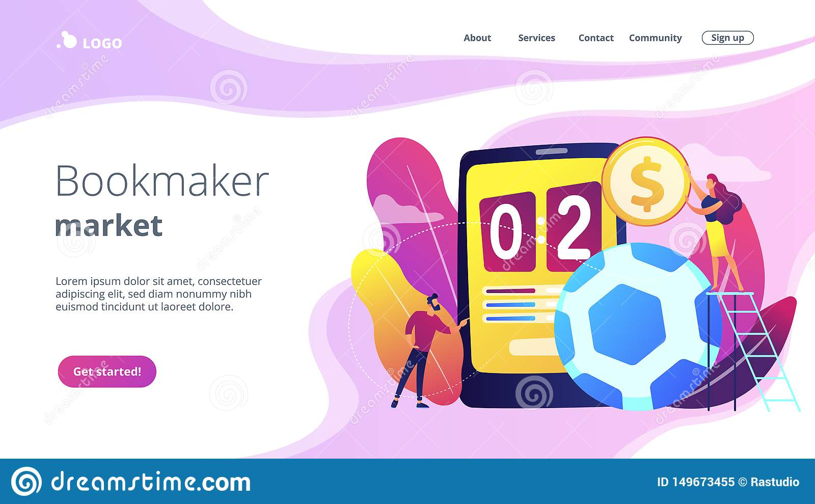 Text template for sport betting landing page sports betting advisory