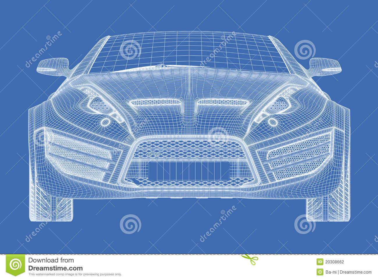 Sports car blueprint stock illustration illustration of wheel sports car blueprint malvernweather Choice Image