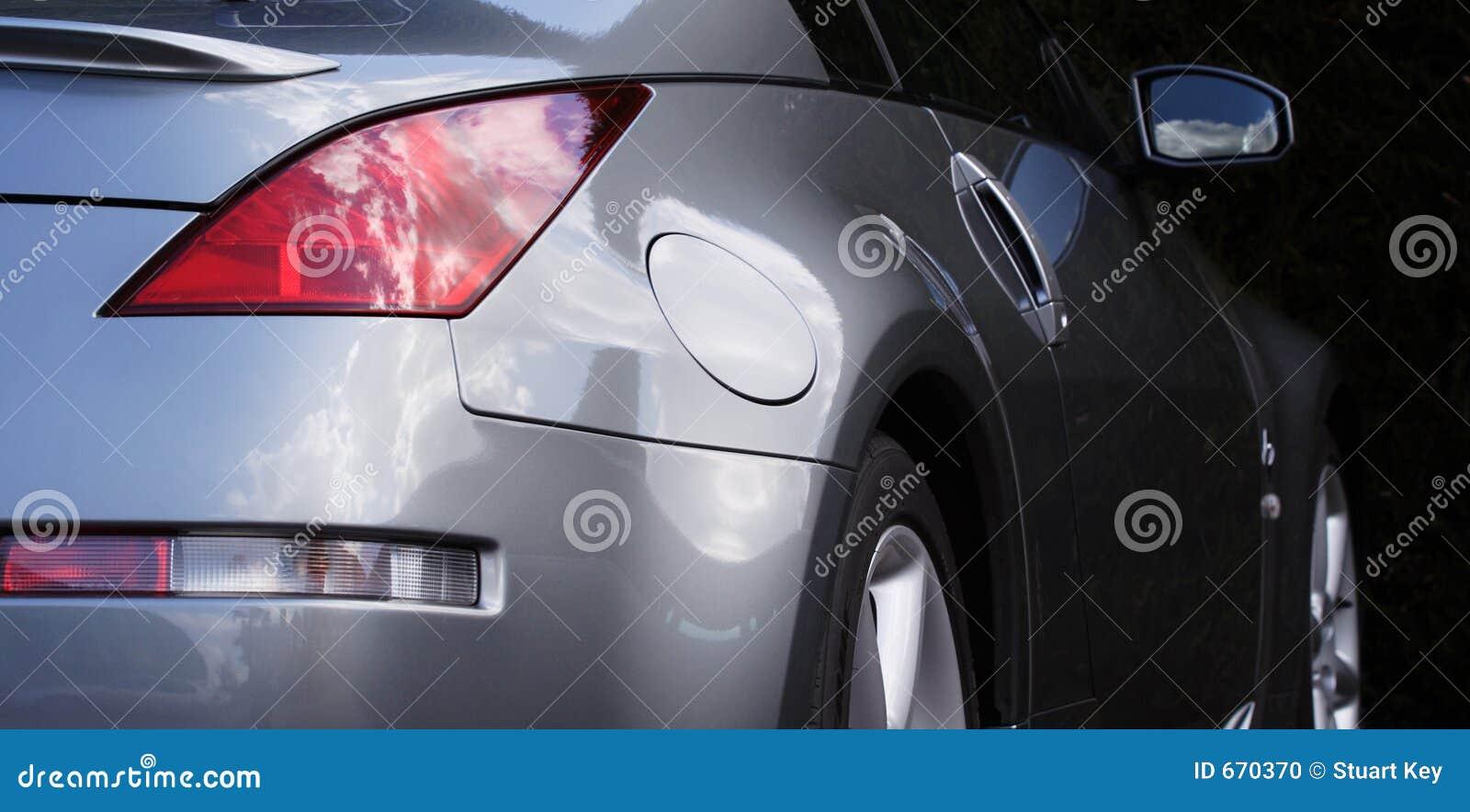 Sports car detail