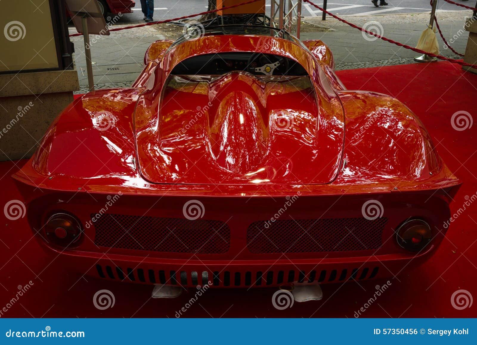 Sports car Ferrari Dino 206 SP (Sports prototype), 1966