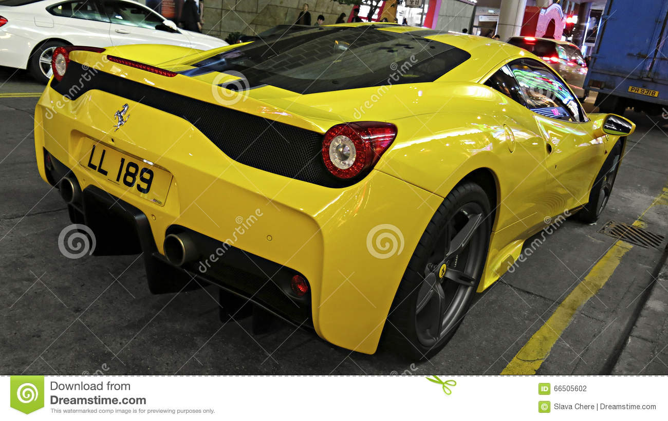 Superb Sports Car Ferrari